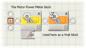 Motor Power Meter NXT-G Block
